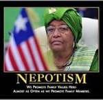 Johnson Sirleaf's Nepotism