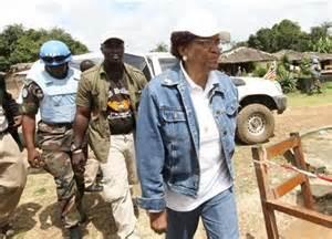 Ellen Johnson Sirleaf and Liberian civil war